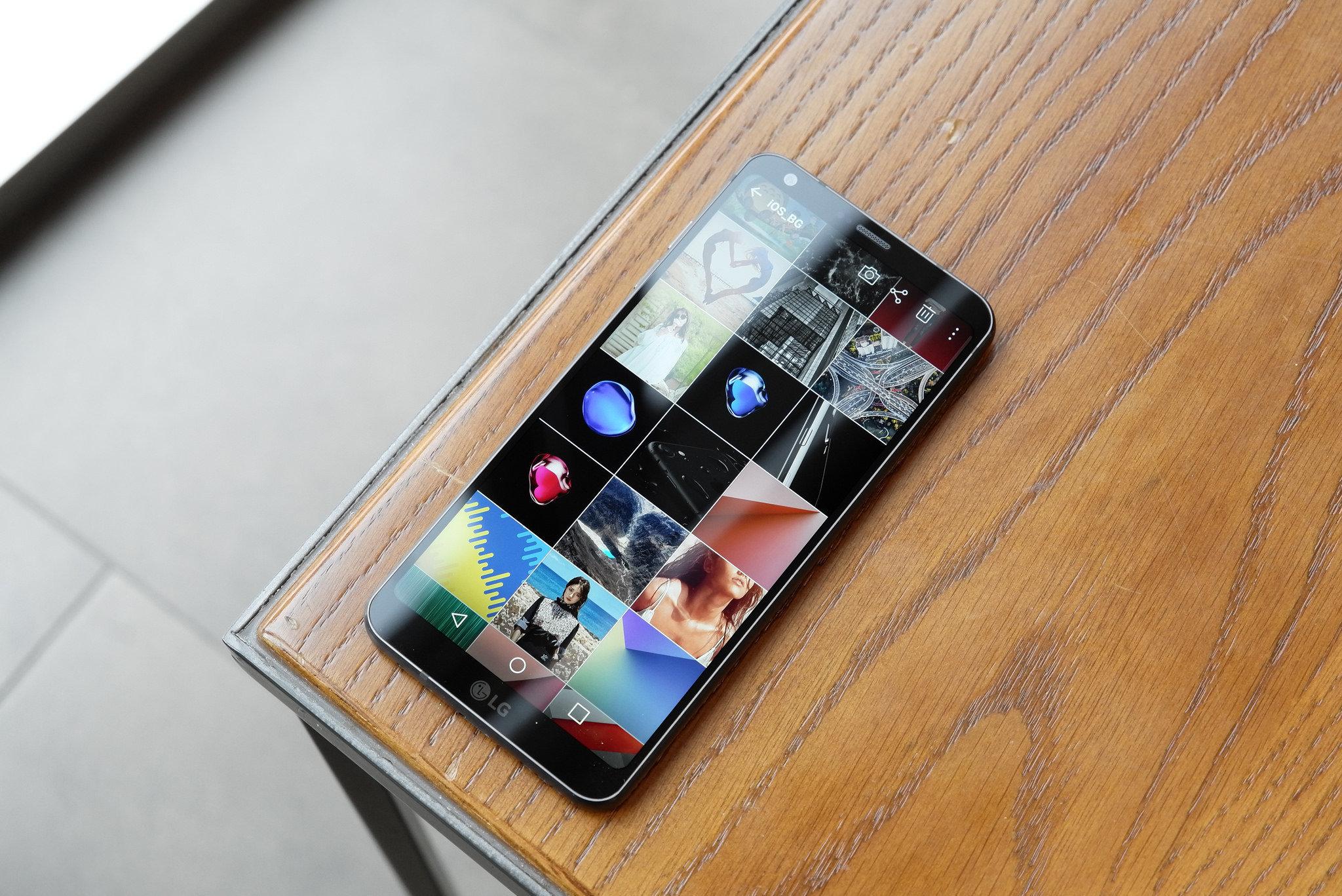 Teléfono inteligente LG G6