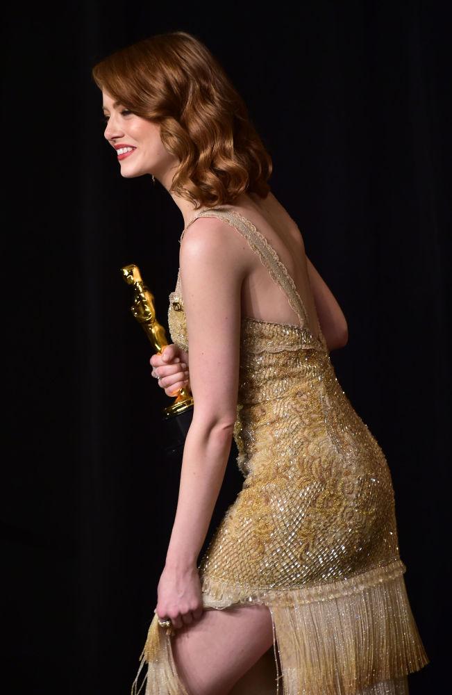 La actriz estadounidense Emma Stone