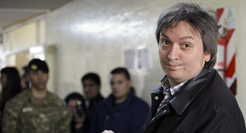 Máximo Kirchner, el hijo de la expresidenta de Argentina, Cristina Kirchner