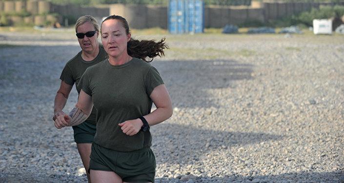 Mujeres de la Infantería de Marina estadounidense