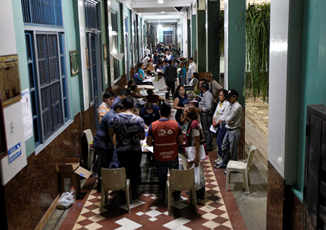 Conteo de votos en Ecuador (archivo)