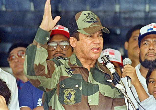 Exdictador panameño Manuel Noriega (archivo)