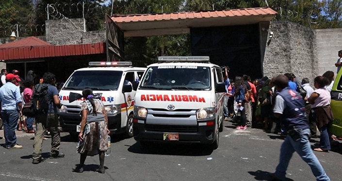 Tragedia en Guatemala: incendio se salda con la vida de 22 mujeres jóvenes