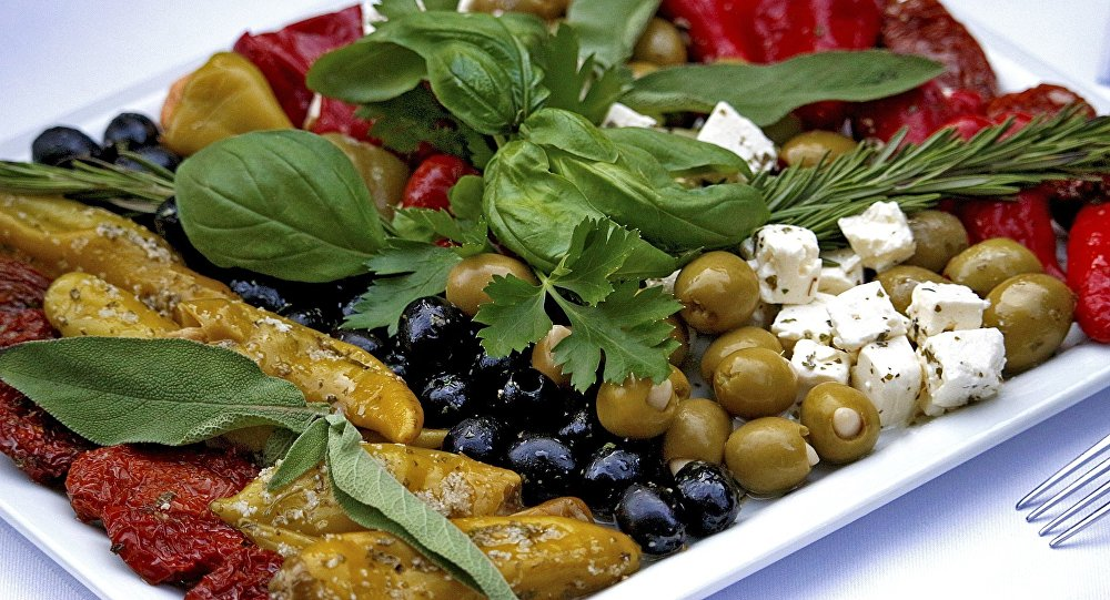 Dieta mediterránea (imagen referencial)
