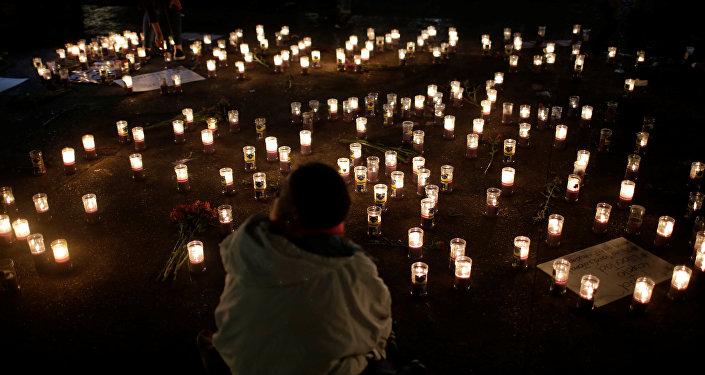 Homenaje a las víctimas del incendio en casa hogar en Guatemala (archivo)