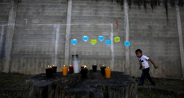 Homenaje a las víctimas del incendio en casa hogar en Guatemala