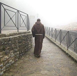 Un monje franciscano