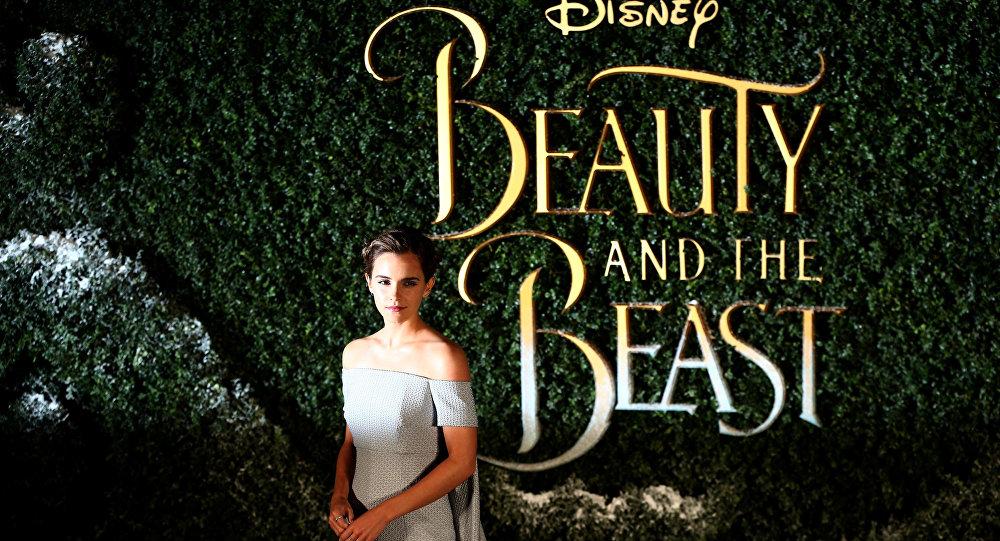 Emma Watson en el preestreno de 'La Bella y la Bestia'
