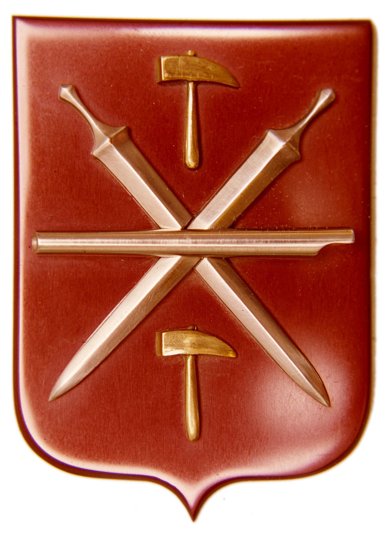 El escudo de Tula refleja sus tradiciones herreras y armamentistas