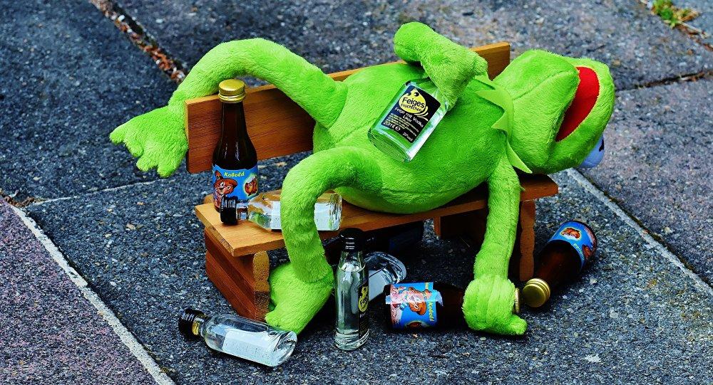 Alcoholismo (ilustración)