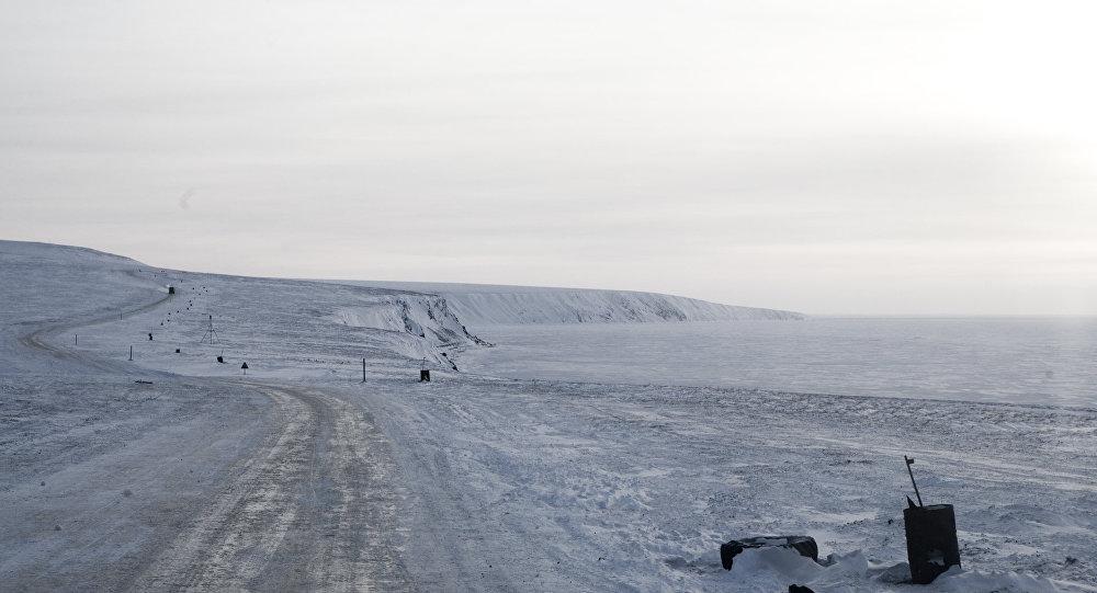 'Zimnik' Pevek - Kupol en Chukotka