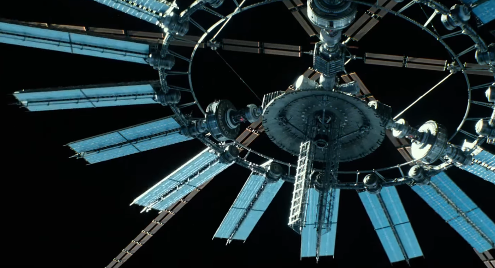 Escena de la película 'Geostorm', 2017