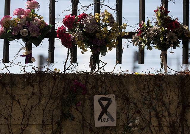 Las flores en homenaje a las víctimas del atentado de 11-M en Madrid