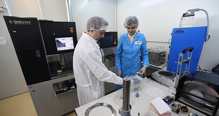 Un laboratorio del Centro Nanotecnológico de Zelenograd