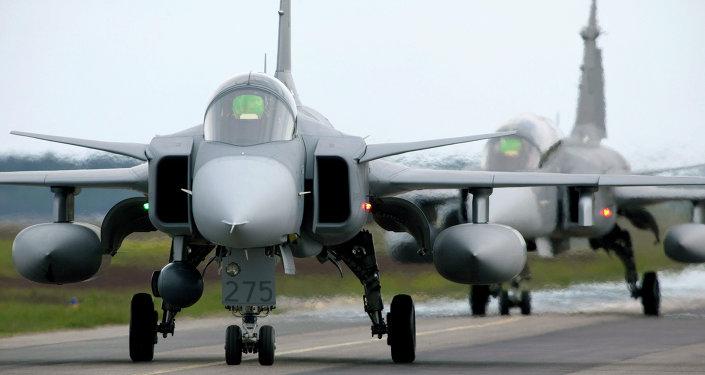 Ejercicios de la OTAN en Suecia (archivo)