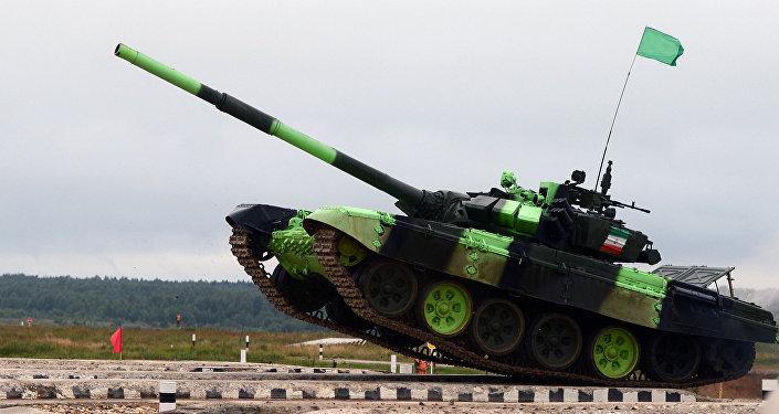 T-72BZ de Irán (archivo)