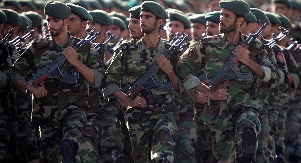 Soldados iraníes (imagen referencial)