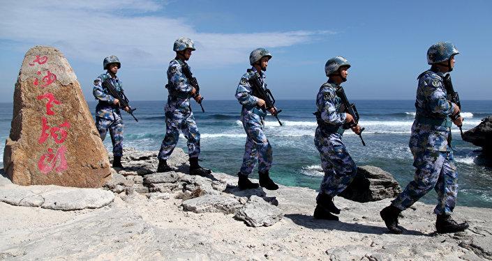 La infantería marina de China (archivo)
