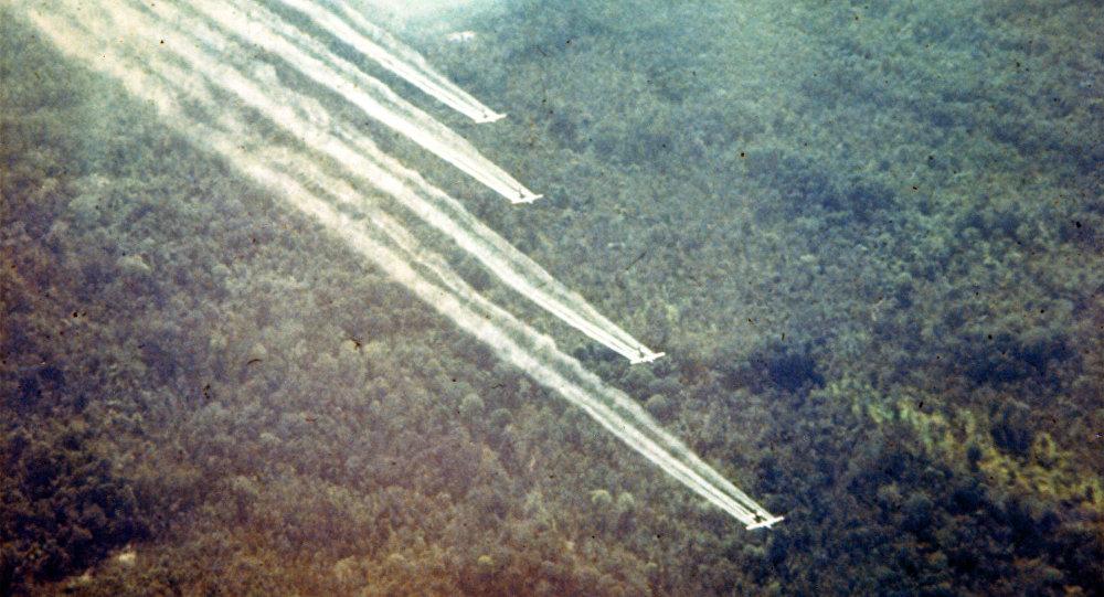 El uso de armas químicas en Vietnam (archivo)