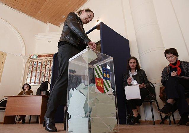 Elecciones en Abjasia