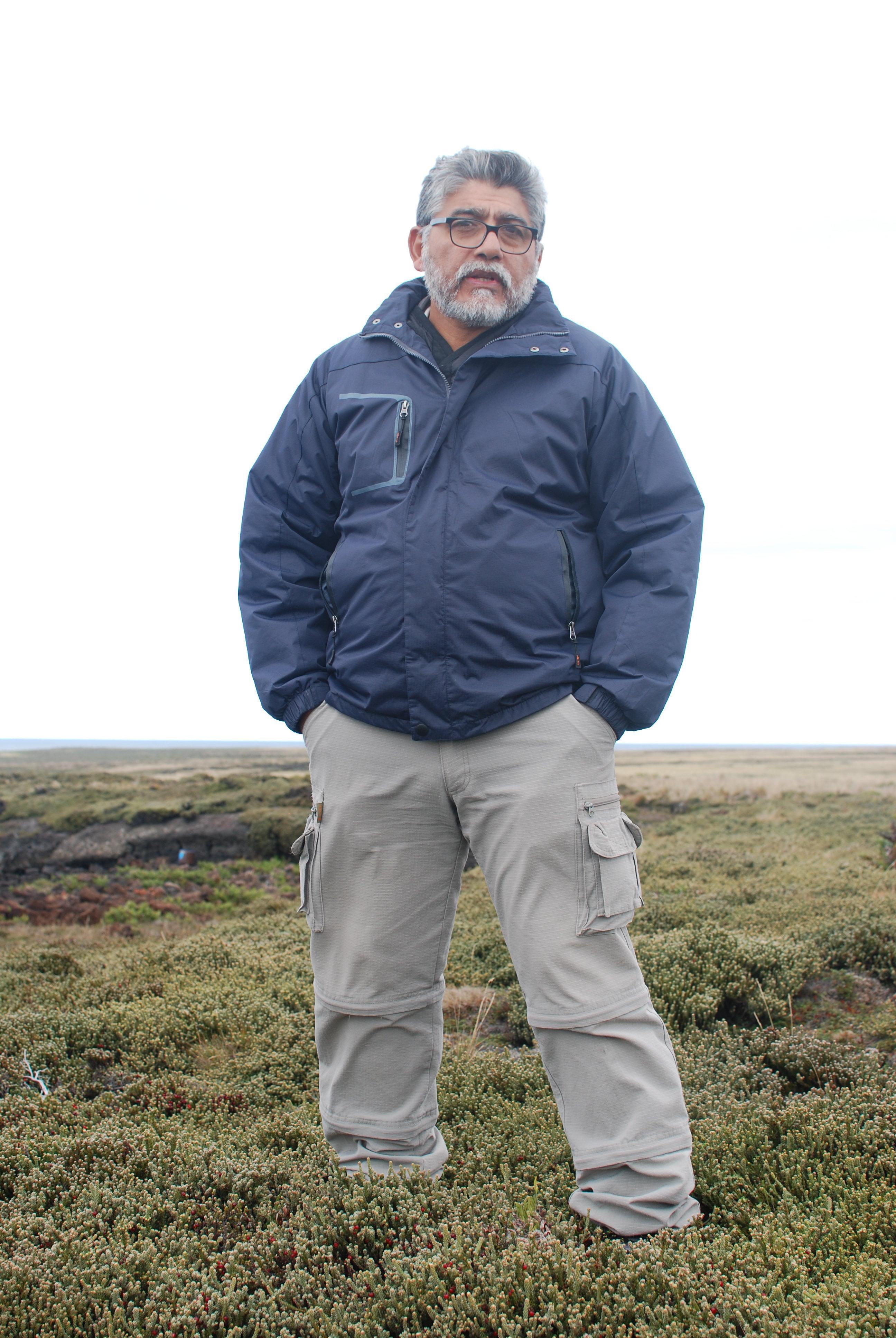 El excombatiente de la Guerra de Malvinas Armando González
