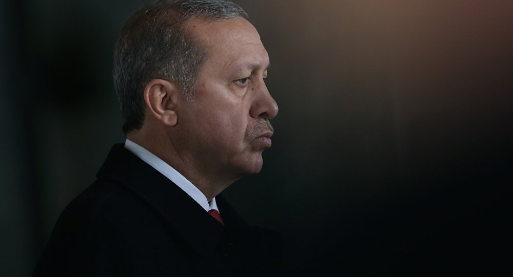 El mandatario turco, Recep Tayyip Erdoğan