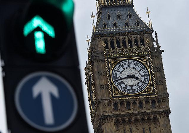 The Big Ben clocktower is seen in London, Britain, 12 March