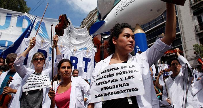 Paro docente en Buenos Aires