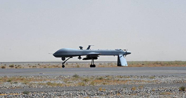 Un dron Predator (archivo)