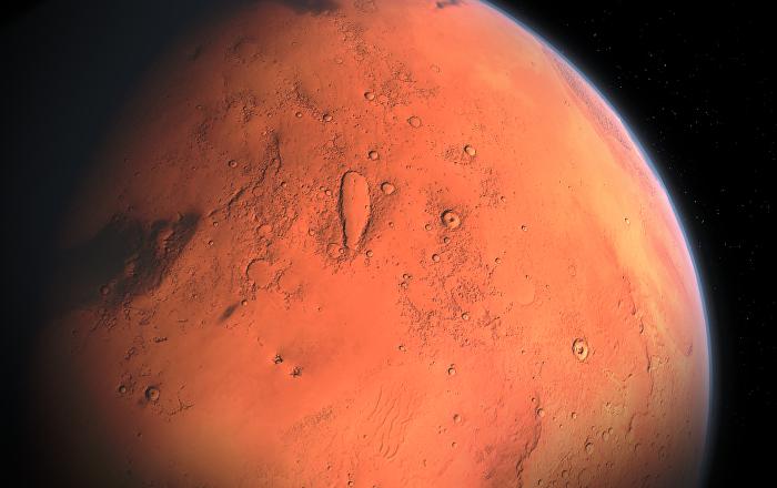 La NASA logra registrar la imagen de una avalancha en Marte
