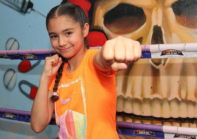Stephanie Martínez, boxeadora mexicana