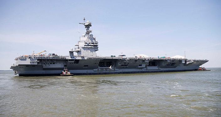 Portaviones estadounidense USS Gerald R. Ford