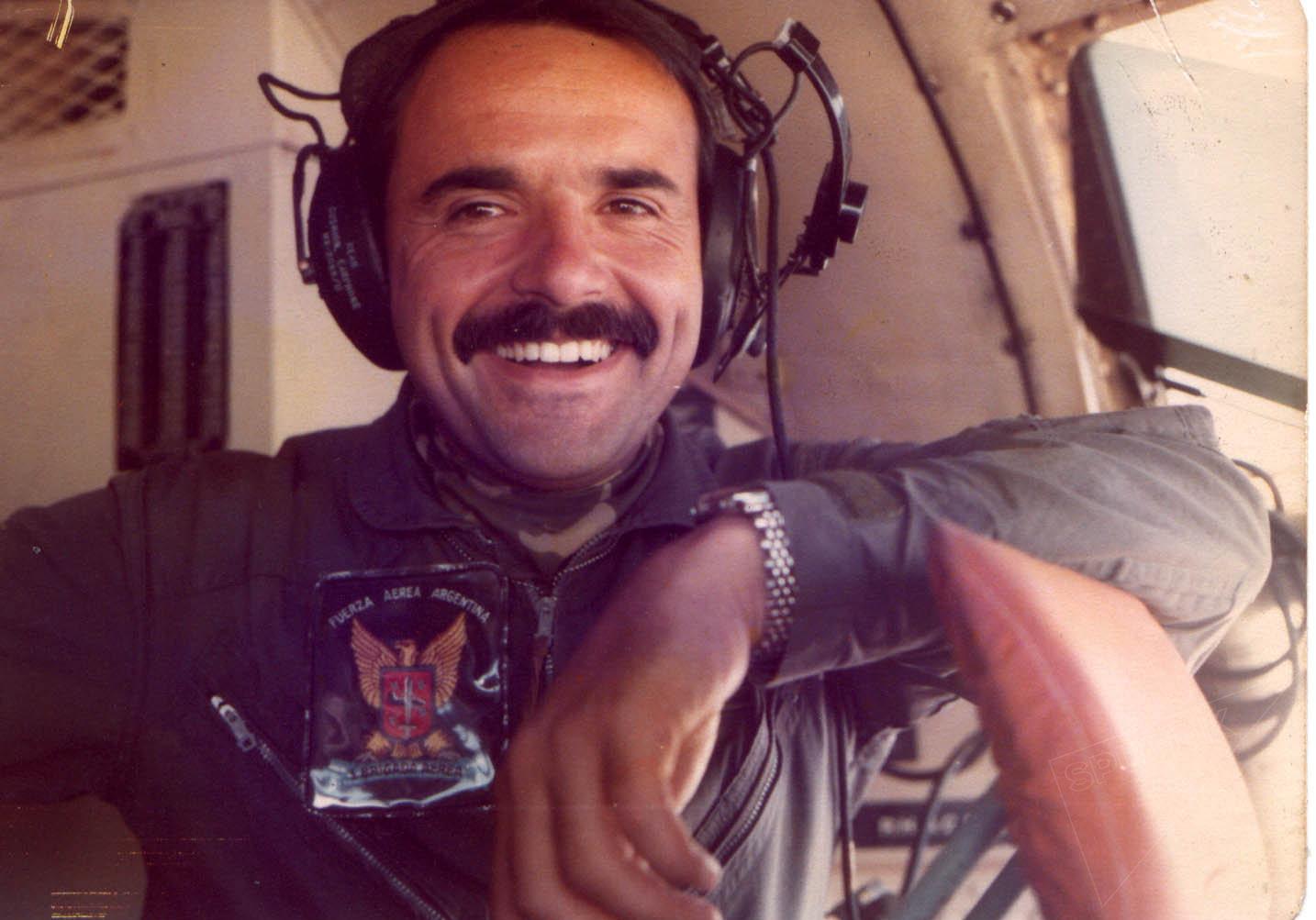 Rubén Martel, piloto argentino caído en la Guerra de Malvinas