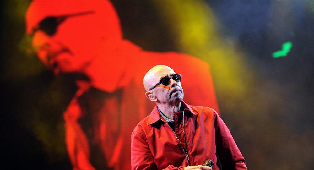 Concierto del cantante Indio Solari en la localidad de Olavarría