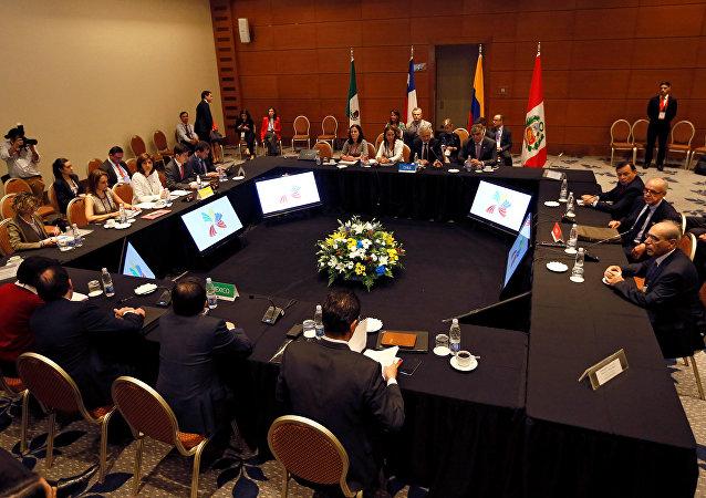 Cumbre de la Alianza del Pacífico en Chile