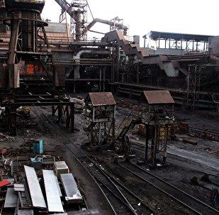 Planta metalúrgica en Donetsk