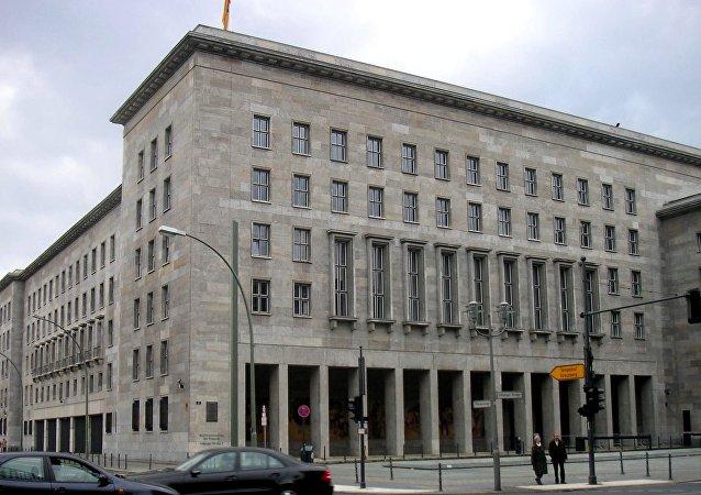 El ministerio de Finanzas de Alemania (archivo)