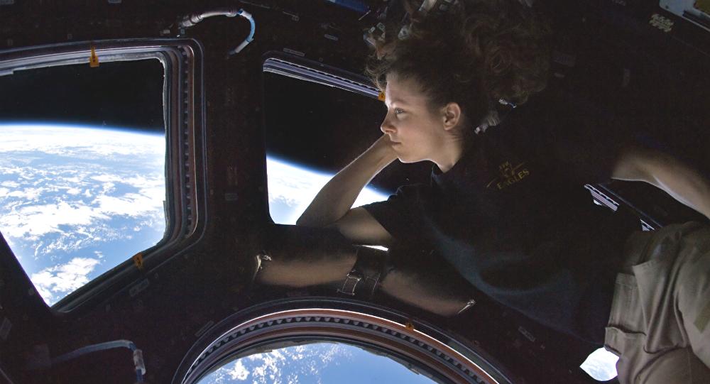 Una cosmonauta (imagen referencial)