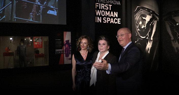 Exposición dedicada a la primera mujer en el espacio, Valentina Tereshkova