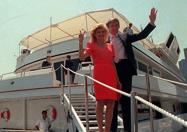 Ivana y Donald Trump, en 1988