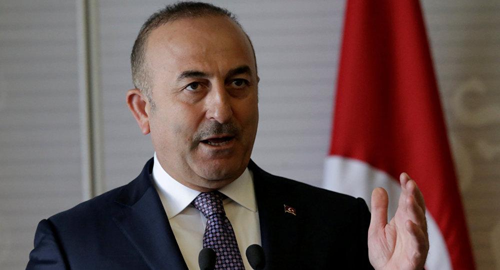 Mevlut Cavusoglu, ministro de Exteriores turco