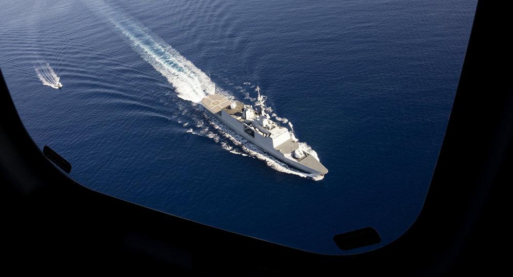 Una fragata francesa (imagen referecial)