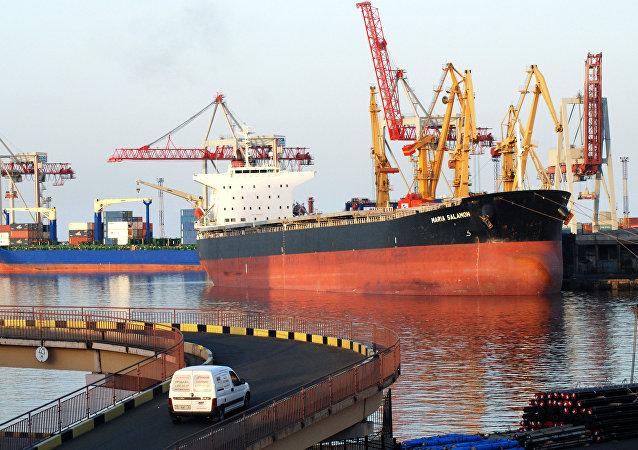 El puerto de Odesa