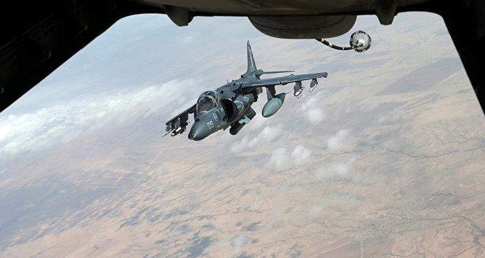 Aviones estadounidenses en Siria