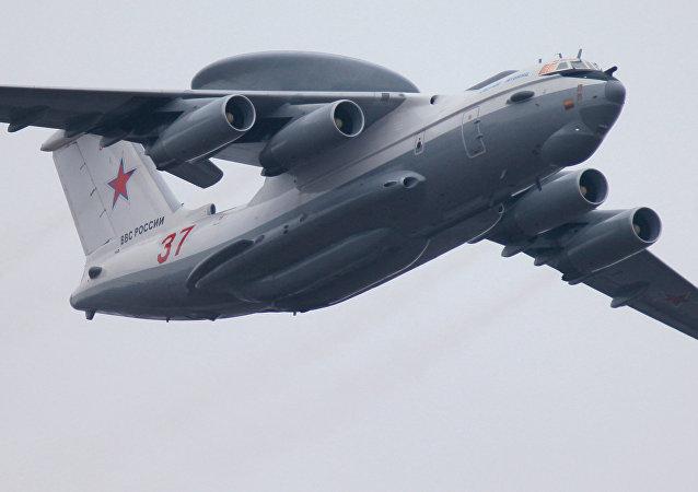 Un avión ruso de alerta temprana (archivo)