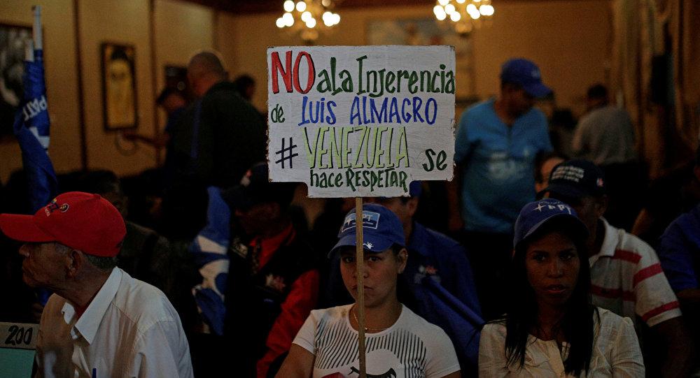 Daza: En Venezuela no hay ruptura del orden constitucional