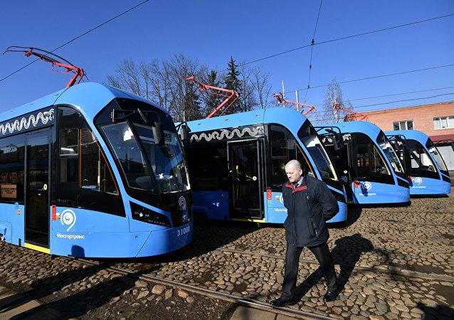 Los nuevos tranvías moscovitas Vitiaz-M