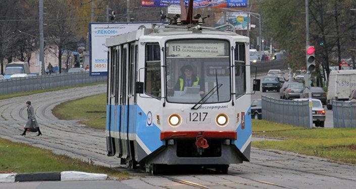 Tranvía moscovita en 2010