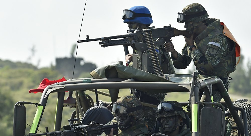 Militares de Taiwán