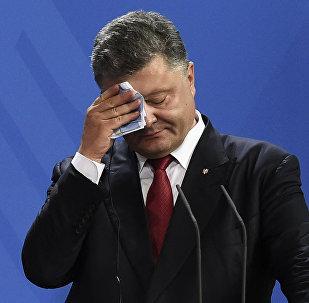 Presidente de Ucrania, Petró Poroshenko (archivo)